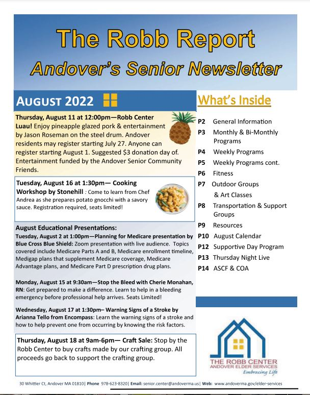 December 2018 Newsletter Cover