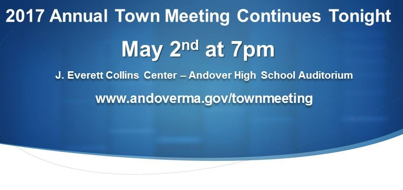 Town Meeting 2017