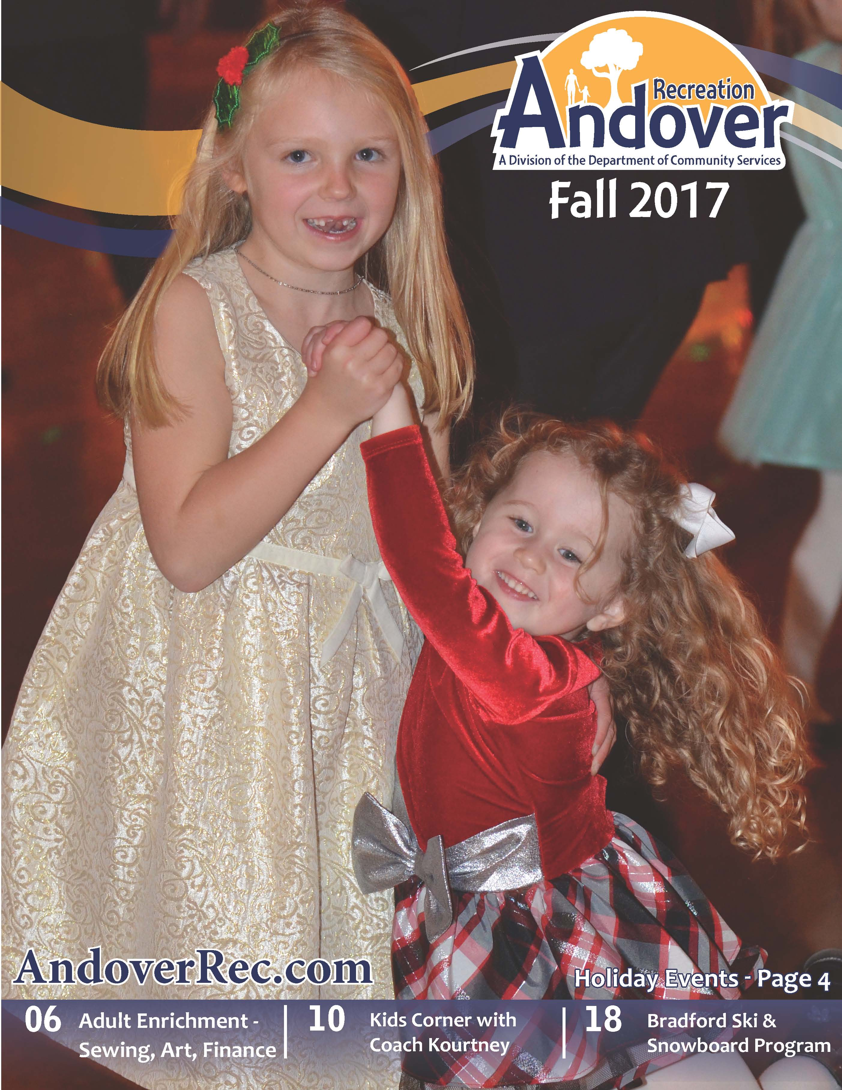 Recreation Fall Booklet 2017 Cover
