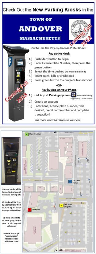 New Parking Meter Information Coming Fall 2018
