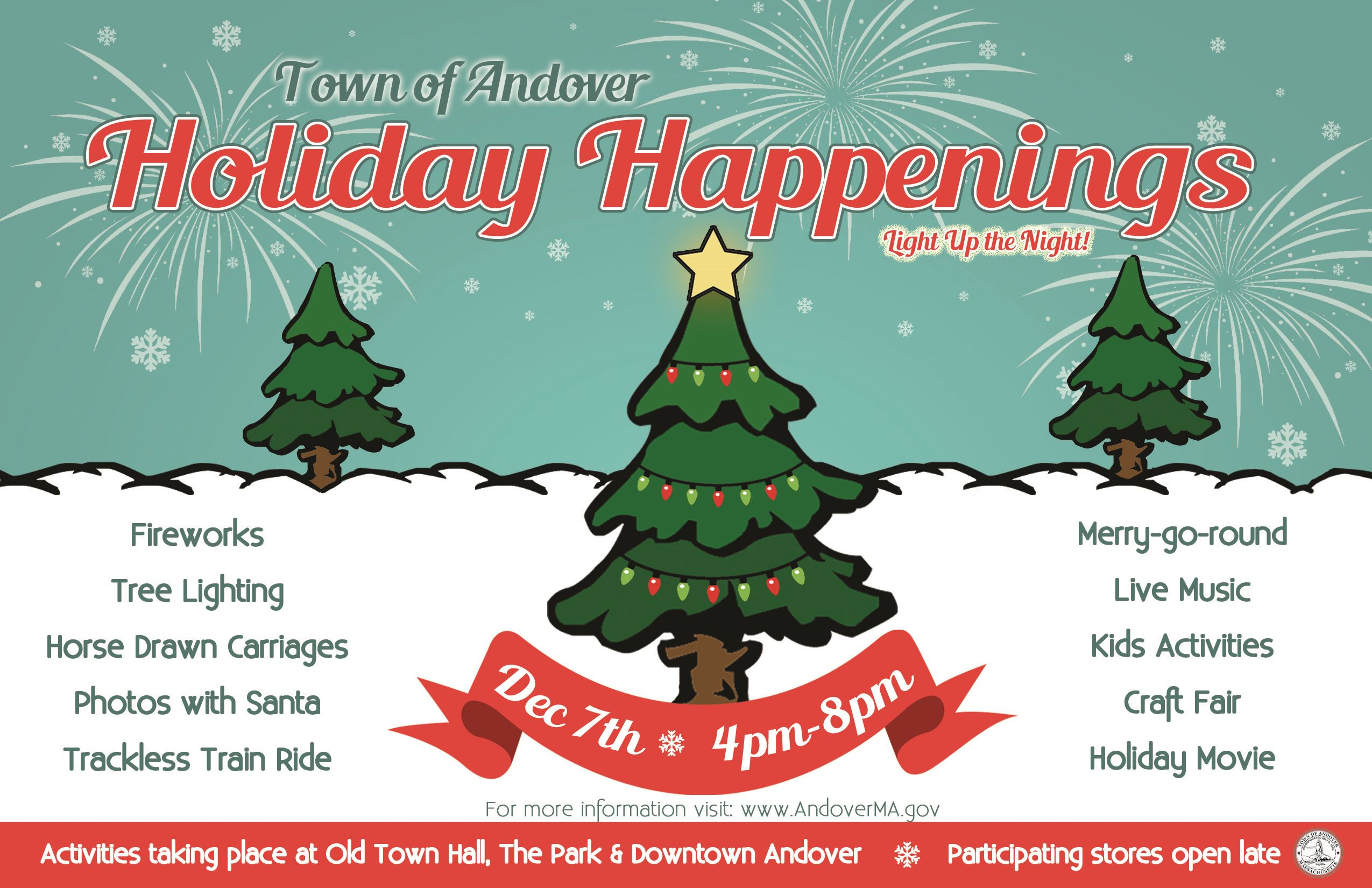 HolidayHappenings-SaveTheDate with Website 2018