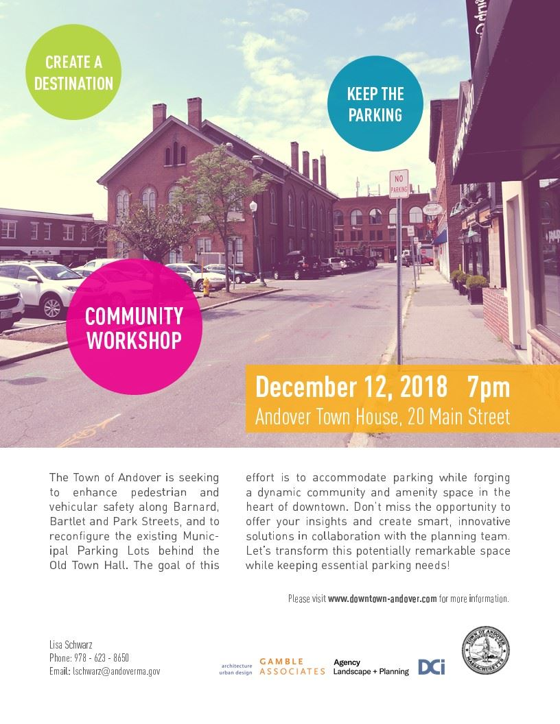 Downtown Community Workshop December 12, 2018
