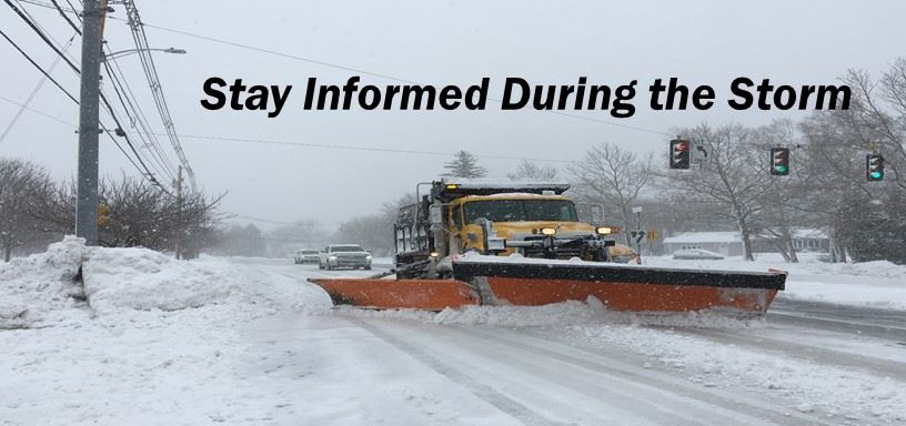 Stay Informed During the Storm