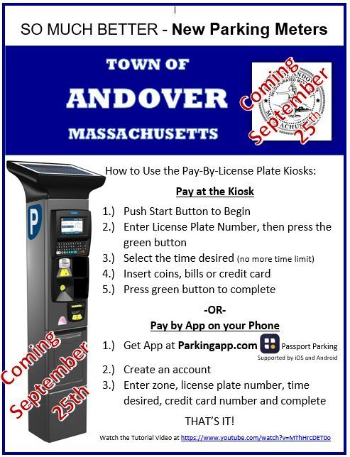 New Parking Meters are Coming!