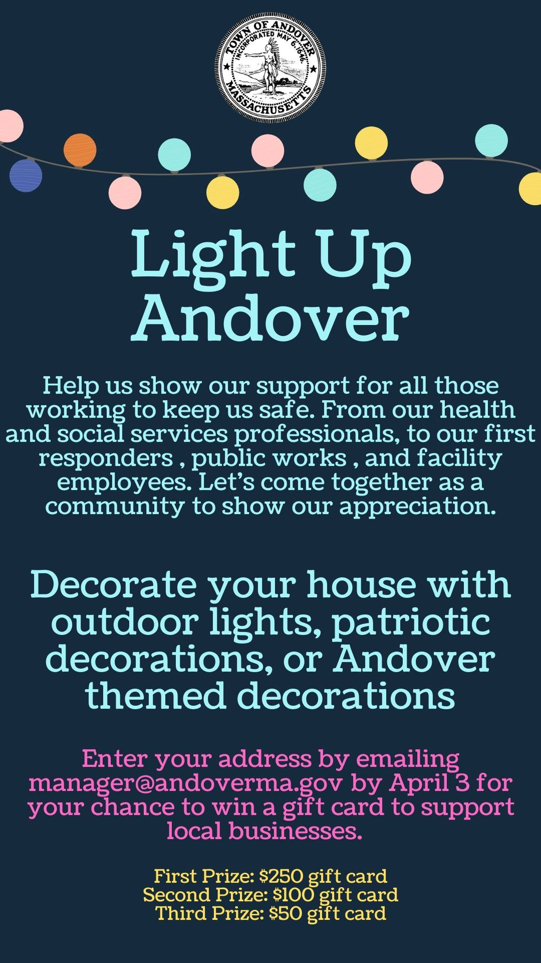 light up andover